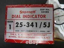 NIB Starrett Dial Indicator