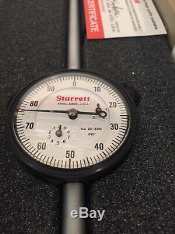 NOS Starrett 3.000 Dial Indicator 25-304IJ