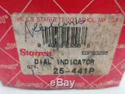 New Starrett 25-441p Dial Indicator D599239
