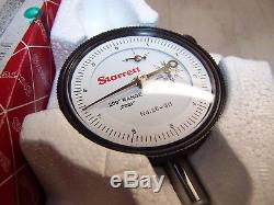 New Starrett 25-611j Dial Indicator. 200 Range