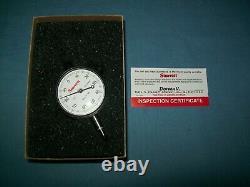 New Starrett Dial Indicator 25-241J. 001 Accuracy /. 250 Range