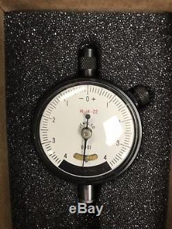 New Starrett Dial Indicator 81-111J Original Box Never Used