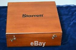 New Starrett Dial Indicator Groove Gauge 1175MZ in Wooden Case EDP 65032
