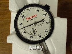 New Starrett Dial Indicator No 25-441/5j