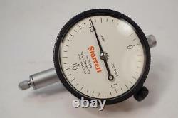 New Starrett USA Made. 050 Range. 0005 Grad Dial Indicator 25-234J $192 List