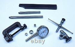 Nice Starrett 196 Back Plunge Universal Dial Indicator Set With Padded Case