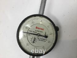 Older Starrett No. 655-3041 Long Dial Indicator Machinist Tool Gauge Gage