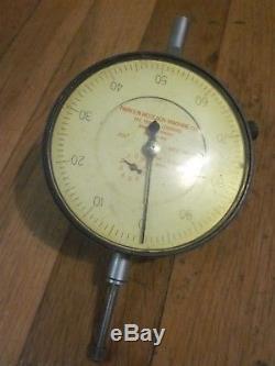 RARE Vtg STARRETT 656-441 Dial Indicator PARKS & WOOLSON VT HISTORY Museum Tool