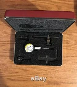 STARRETT. 0001 Inch DIAL INDICATOR NO 708B With Case