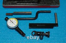 STARRETT. 0001 LAST WORD 711-T1 DIAL TEST INDICATOR with ACCESSORIES and CASE