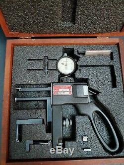 STARRETT 1175Z Dial Indicator Groove Gage. 375-6 Range 0.0005 Graduation USA