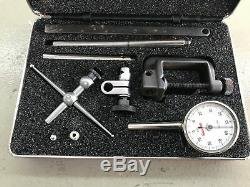 STARRETT 196A1Z DIAL TEST INDICATOR With ORIGINAL RED BOX & CASE