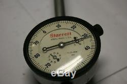 STARRETT 25-4041 Dial Indicator. 001 USA