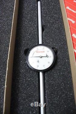 STARRETT 25-4041J Dial Indicator Long Range Travel 0.375 Stem Diameter machinist
