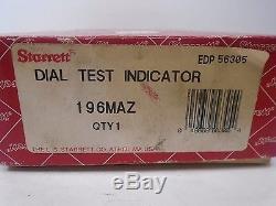 STARRETT 3 piece DIAL TEST INDICATOR 196MAZ No. 25-111 25-131 25-441