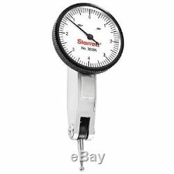 STARRETT 3808A Dial Test Indicator Set, 1-1/4, White