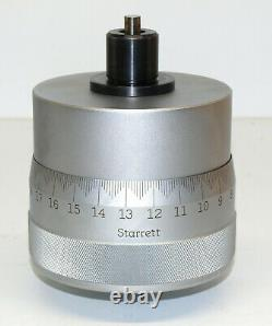 STARRETT 469 SUPER PRECISION MICROMETER HEAD from DIAL INDICATOR TESTER