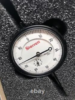 STARRETT 53295 25-441J DIAL INDICATOR UNIVERSALLY FITTING + 22 Point Set -NEW