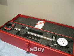 STARRETT 659 HEAVY DUTY MAGNETIC BASE WithSTARRETT 25-341J DIAL INDICATOR