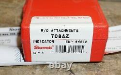 STARRETT 708AZ Dial Test Indicator, Hori, 0 to 0.010 In, New in Box