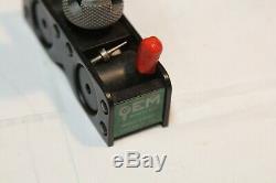 STARRETT 711 LAST WORD INDICATOR with GEM Magnetic Base Indicator Holder USA