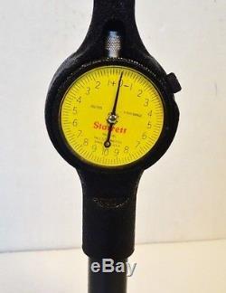 STARRETT 8 12 Dial Bore Gauge 84Z-111-7J with STARRETT Dial Indicator 25-161