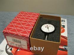 STARRETT 81-136-623J DIAL INDICATOR WithDOUBLE ROW. 0005 MACHINIST TOOLS