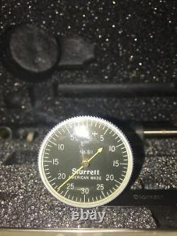 STARRETT 811-5CZ TEST INDICATOR Black Dial