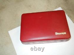 STARRETT #811 SWIVEL HEAD DIAL TEST INDICATOR IN CASE WithATTACHMENTS. 0005