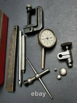STARRETT Back Plunger Dial Test Indicator 196A6Z No. 196 Anti-Magnetic Machinist