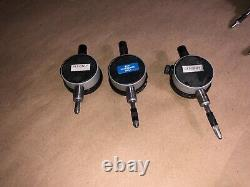 STARRETT DIAL INDICATOR 81-241.001.250 Range QTY 3