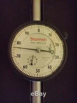 STARRETT DIAL INDICATOR MODEL 25-5041J Range 0-5 NEW in Box