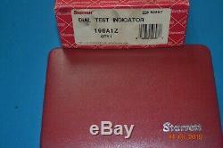 STARRETT DIAL TEST INDICATOR 196A1Z With ORIGINAL BOX 196A1Z L@@K