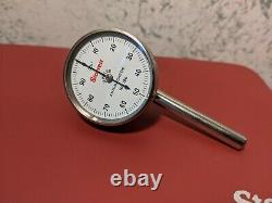 STARRETT DIAL TEST INDICATOR NO196A6Z with CASE BOX & ATTACHMENTS NOS