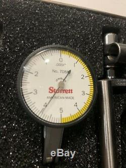 STARRETT Dial Indicator Model 811- 5CZ machinist tools MINT