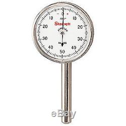 STARRETT Dial Test Indicator, Vert, 0 to 0.200 In, 196B5