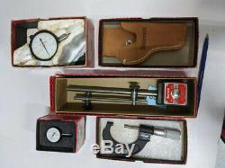 STARRETT Digital Micrometers, Dial indicators + Mag base used