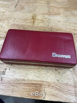 STARRETT LAST WORD DIAL INDICATOR NO 711 with CASE + ATTACHMENTS