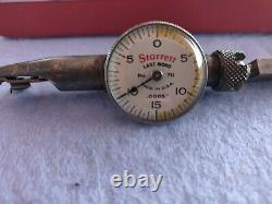 STARRETT LAST WORD No 711.0005 DIAL TEST INDICATOR KIT. WithBOX. MADE IN USA