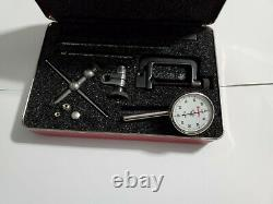 STARRETT No. 196 UNIVERSAL DIAL TEST INDICATOR KIT WITH HARD CASE