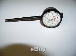 STARRETT No. 650 BACK PLUNGER DIAL TEST INDICATOR LIGHTLY USED