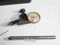 STARRETT No 711-C LastWord Dial Indicator Snug & Accessories- machinist tools