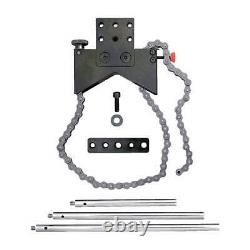 STARRETT S668A Shaft Alignment Clamp, Anodized Aluminum