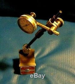 STARRETT Swivel base Mag base #657 & back plunger anti-magnetic Dial Indicator