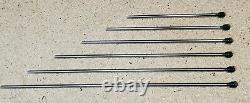 Scherr Tumico tool kit 1 micrometer, depth mic, dial caliper, Starrett scale