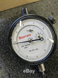 Starret Dial Indicator 25-611J. 0001'' increments
