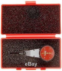 Starret Swivel Head Dial Test Indicator 0-0.03 Range / 0.0005 Grad 0-15-0 Read