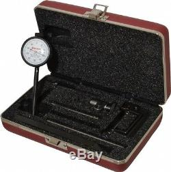Starrett 0.2 Inch Range, 0.001 Inch Dial Graduation, Horizontal Dial Test Ind