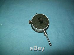 Starrett 0.375 Stem Diameter Lug-on-Center Back Dial Indicator 0-1 25-441P