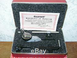 Starrett. 0005 Inch Dial Indicator Set No B811-5cz